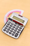 Doing Calculations Royalty Free Stock Image