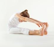 doing girl yoga young Στοκ Φωτογραφίες