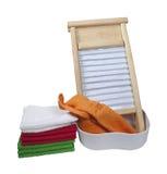 Doing Laundry Royalty Free Stock Image