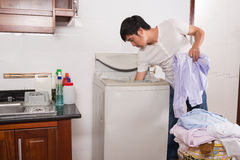 Free Doing Laundry Royalty Free Stock Photo - 62825365
