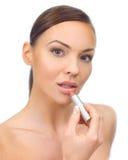 Doing Makeup Stock Image