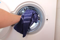 Doing the wash Royalty Free Stock Photography