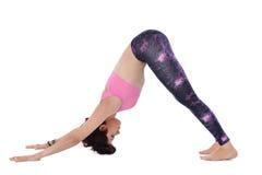 Doing yoga Stock Photography