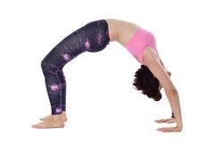 Doing yoga Royalty Free Stock Photography