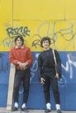 Dois adolescentes Fotografia de Stock
