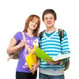 Dois adolescentes Imagem de Stock Royalty Free