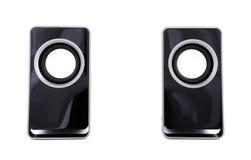 Dois altofalantes do computador Imagens de Stock Royalty Free