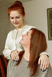Dois amigos da mulher. Imagens de Stock Royalty Free