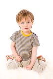 Dois anos de menino Fotografia de Stock Royalty Free