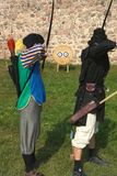 Dois archers. Foto de Stock