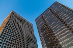 Dois arranha-céus Fotografia de Stock