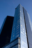 Dois arranha-céus verticais Fotografia de Stock