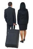 Dois assistentes do flyght Foto de Stock