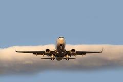 Dois aviões do motor de jato Fotografia de Stock