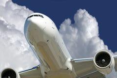 Dois aviões do motor de jato Imagens de Stock