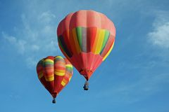 Dois balões Imagens de Stock