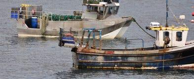 Detalhe dos barcos de pesca Fotografia de Stock Royalty Free