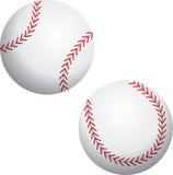 Dois basebol Foto de Stock