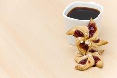 Dois biscoitos Fotos de Stock