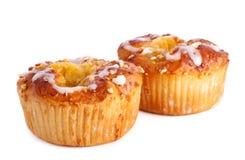 Dois bolos de maçã Foto de Stock Royalty Free