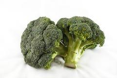 Dois Broccolis Imagem de Stock