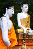 Dois buddha Imagem de Stock Royalty Free