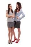 Dois business-women Fotografia de Stock