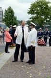 Dois capitães de marinha Foto de Stock