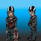 Dois caráteres Imagem de Stock Royalty Free
