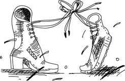 Dois carregadores do amante Ilustração Stock