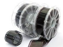 Dois carretéis da película Fotografia de Stock