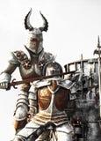 Dois cavaleiros Imagens de Stock
