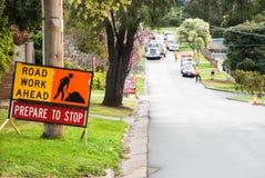 Dois cavaleiros nos cavalos Victoria, Austrália Fotos de Stock