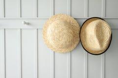 Dois chapéus Fotografia de Stock Royalty Free