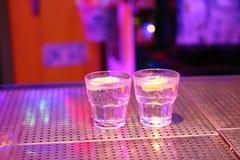 Dois cocktail fotos de stock royalty free
