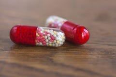 Dois comprimidos Fotografia de Stock
