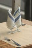Dois copos Imagem de Stock