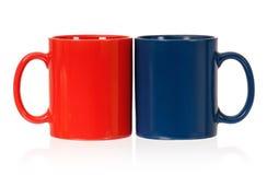 Dois copos Imagens de Stock