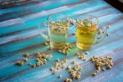 Dois copos da tisana Imagens de Stock