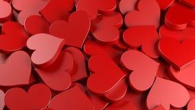 Dois corações ilustração stock