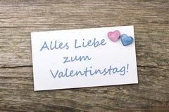 Dia do ` s do Valentim imagem de stock