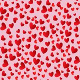 Dois corações junto Fotografia de Stock