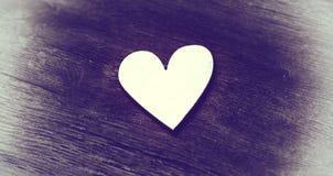 Dois corações - símbolo do amor fotografia de stock