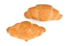 Dois croissants Imagens de Stock Royalty Free