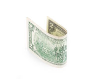 Dois dólares Bill Fotografia de Stock