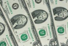 Dois-dólares da conta Fotografia de Stock