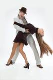 Dois dançarinos imagens de stock