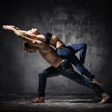 Dois dançarinos Fotografia de Stock Royalty Free
