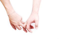 Dois dedos médios Fotografia de Stock Royalty Free