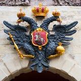 Dois dirigiram a águia fotografia de stock royalty free